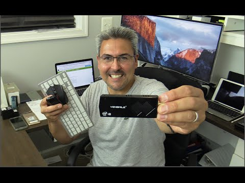 Mini PC  Windows 10 con teclado y Mouse inalámbrico