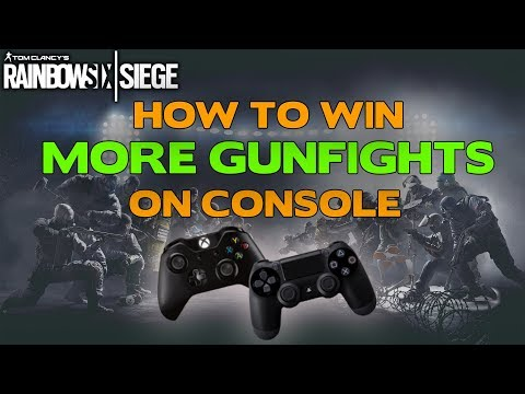 Rainbow Six Siege Tips || How to win more gunfights on console