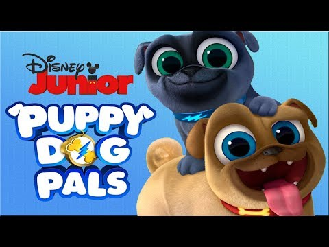 Puppy Dog Pals - Cartoon Clips Puzzles - Disney Junior App For Kids