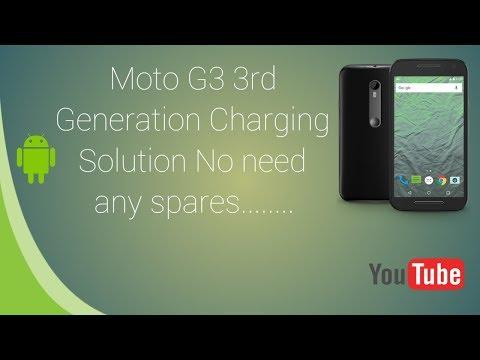 Motorola G3 3rd Generation charging Solution | in Telugu