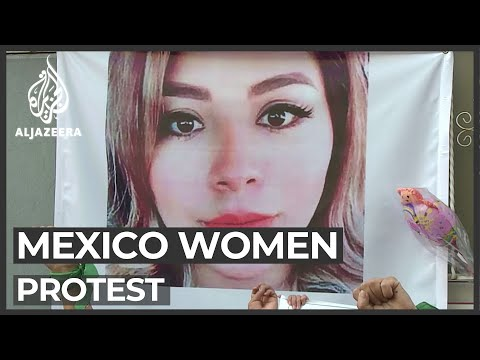 Mexico women protest after gruesome killing of Ingrid Escamilla