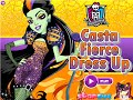 Monster High Games- Casta Fierce Dress Up- Fun Online Dress Up Fashion Games for Girls Kids