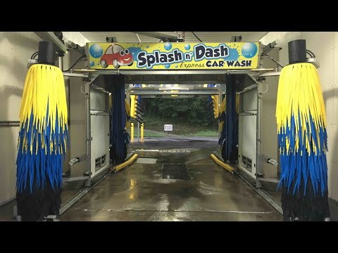 Autec EV1: Splash N Dash Car Wash In Murphy, NC - Outside View