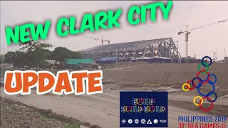 Gambar cover New Clark City UPDATE Construction for 2019 sea games