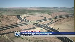 Work begins on Rio Bravo/I-25 Interchange project
