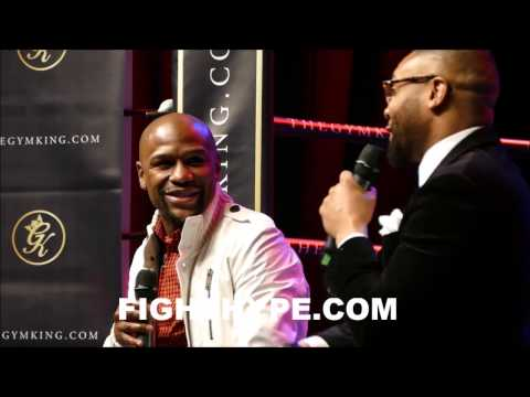 """FLOYD MAYWEATHER ON KEITH THURMAN'S WIN OVER DANNY GARCIA: """"STILL NO COMPETITION FOR ME"""""""