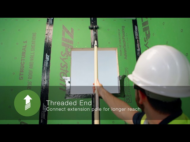 Introducing the ZIP System™ tape roller | ZIP System sheathing and tape