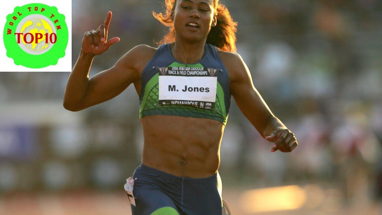 World Top Ten Fastest 100 Meter Sprinters in History ...