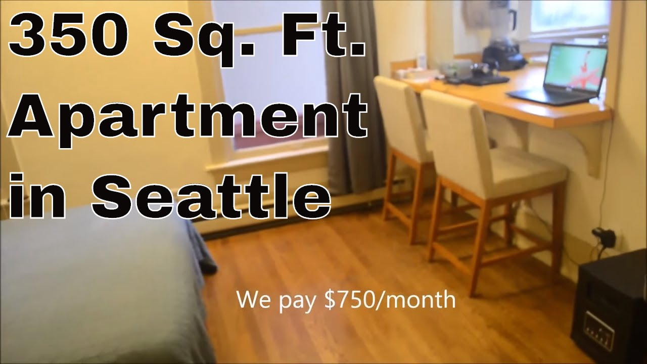 350 Sq Ft Apartment In Seattle Youtube