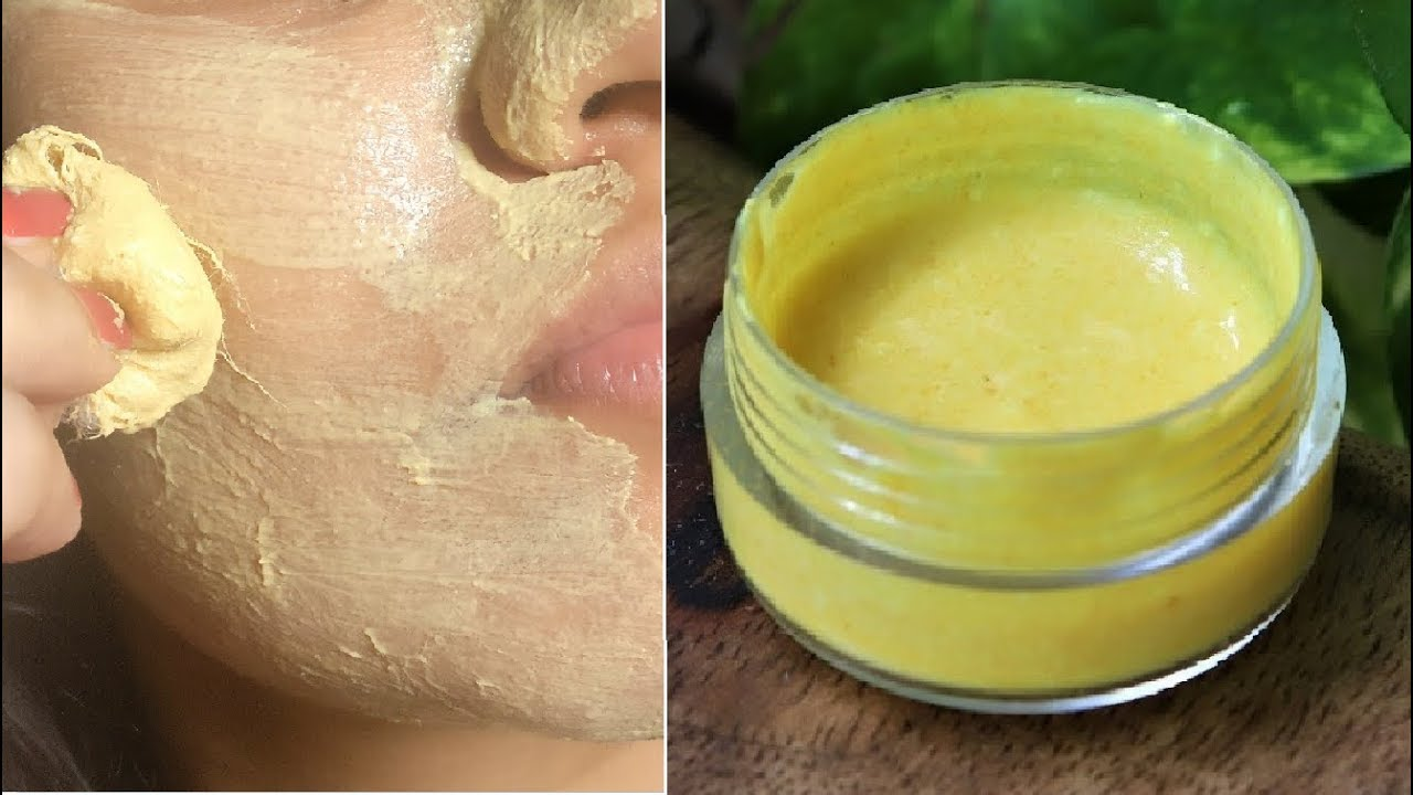 Apply Turmeric Face Pack for 10 minutes Every Night ...