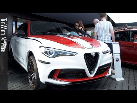 Jeep and Alfa Romeo at the Goodwood Festival of Speed 2019 – Footage