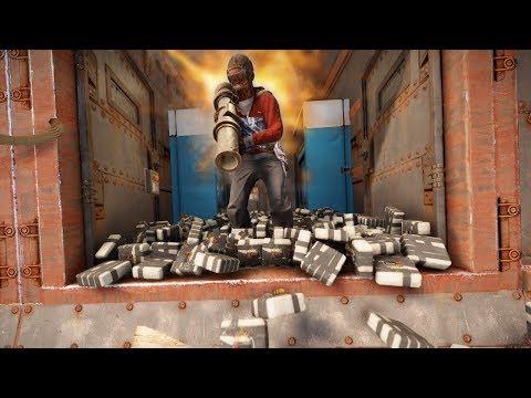 ONLINE RAIDING A HUGE CLAN BASE! *SOLO* - Rust Raiding