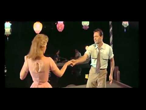 William Holden & Kim Novak Dancing in the Movie Picnic