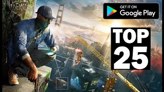 Top 25 Games free for Android | High Graphics |