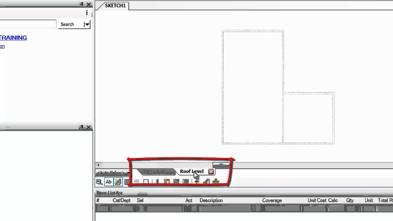 Xactimate Creating Multiple Levels In Sketch How To