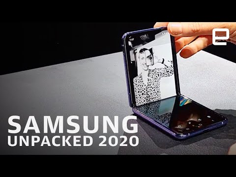 Samsung's Galaxy S20 and Z Flip event in 12 minutes