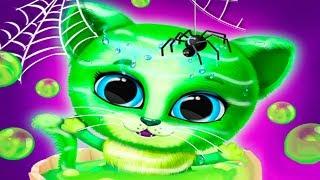 Мультики про котенка Кики и собачку Фифи | Прическа челлендж и наряды на Хелллоуин
