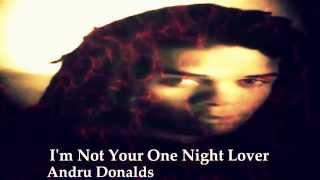 One Night Lover~Andrew Donalds