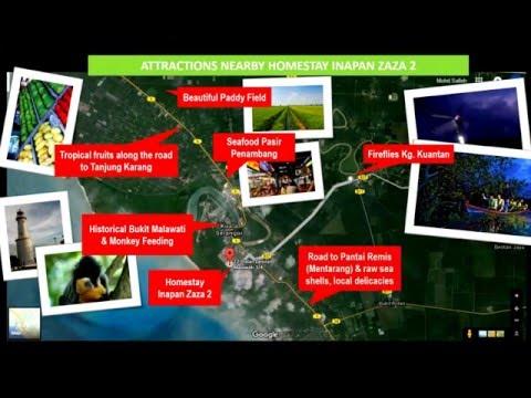 Malaysia Vacation Tips Video - Homestay Inapan Zaza 2, Kuala Selangor & Attractions