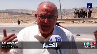 بيوت متنقلة لتهجير أهالي الخان الأحمر بفلسطين - (8-7-2018)