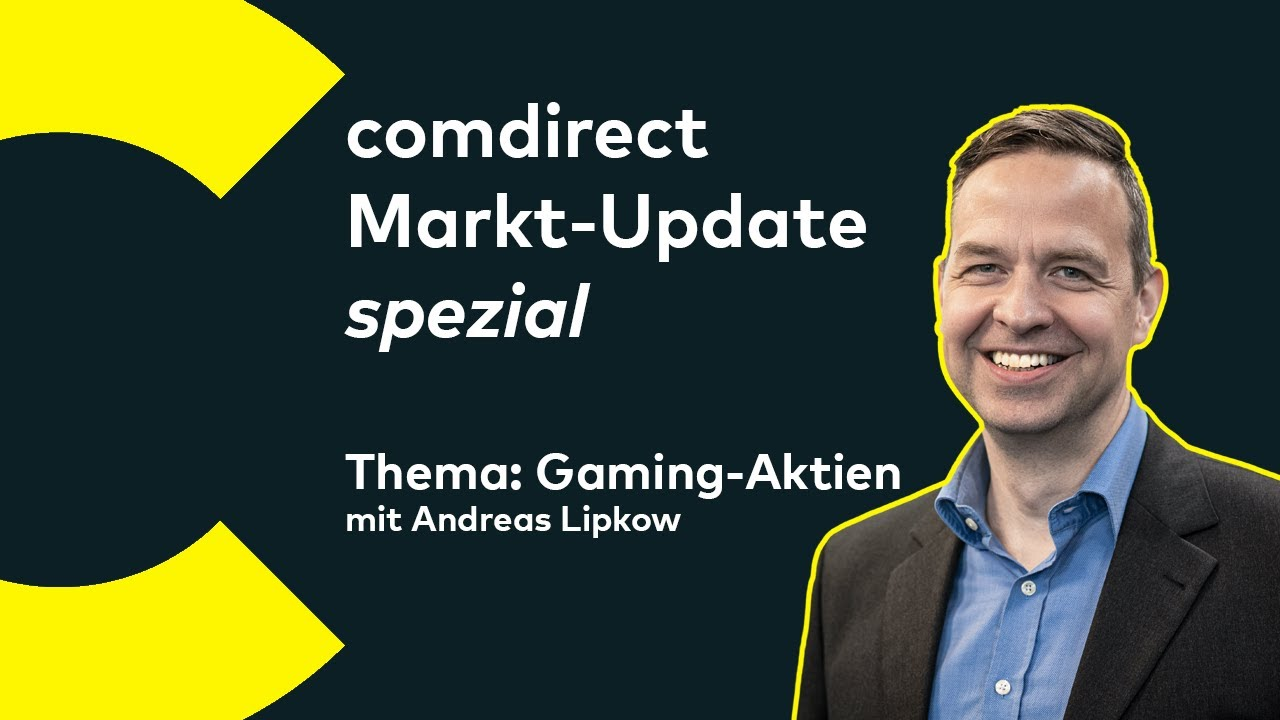 Markt Update Spezial Gaming Aktien Youtube
