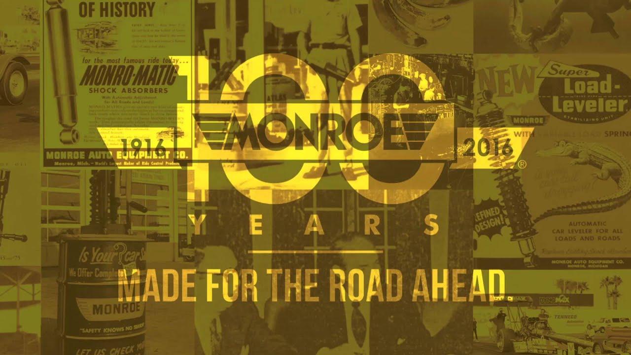 Monroe® History :: MONROE® SHOCKS & STRUTS