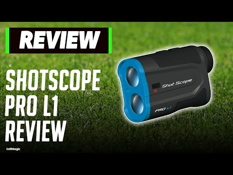 Shot Scope Pro L1 Rangefinder Review | Can This Compete With Bushnell? | Golfmagic.com