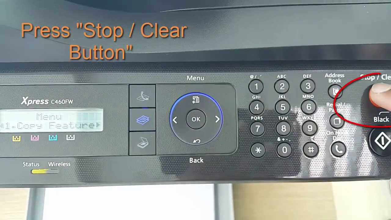 how to update firmware on samsung printer