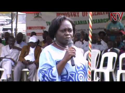 State minister for health Sarah Opendi orders crackdown against abuse of mosquito nets