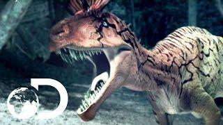 🔴Cryolophosaurus Battle - Reign of the Dinosaurs
