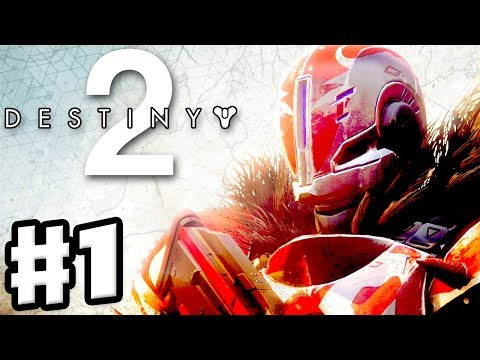 Destiny 2 - Gameplay Walkthrough Part 1 - Homecoming, The Farm, Spark, and Crucible! (PS4 Pro)