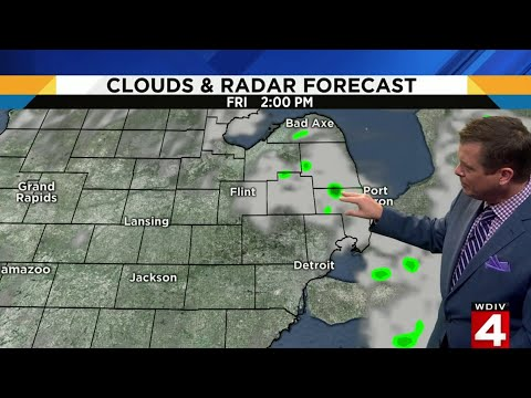 Metro Detroit weather forecast for Aug. 22, 2019 — morning update