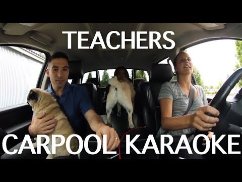 CARPOOL KARAOKE TEACHER EDITION