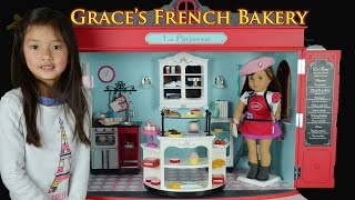 The 2015 American Girl Doll Of The Year (3) - Is Grace's French Bakery Worth $500?