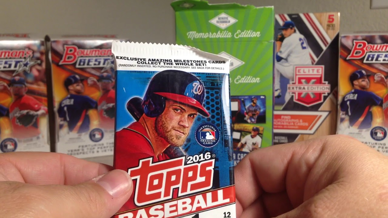 Opening A Fairfield Memorabilia Edition Baseball Cards Pack From Target