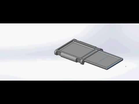 CAD of Arubixs Portal Sliding in the Arm Cradle