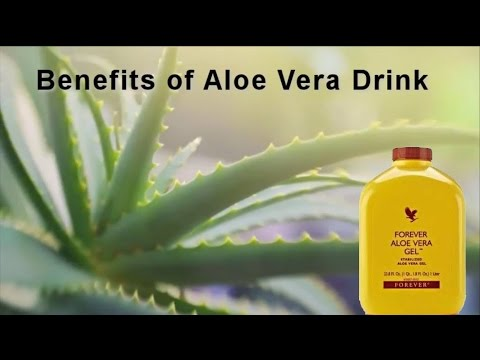 Benefits of Aloe Vera Gel Drink by Forever Living