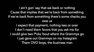 Video Big Sean Ft. Drake & Kanye West - Blessings (Lyrics Video) download MP3, 3GP, MP4, WEBM, AVI, FLV Juni 2018