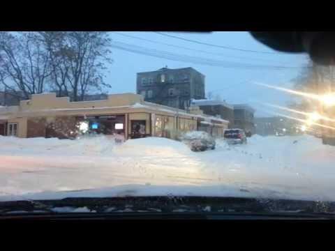 Winter Snow Storm Linus | Dash CAM | OKNHA MEAS