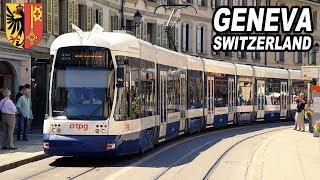 One day in Geneva. Switzerland