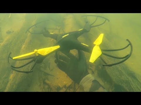 Found Drone Lost 4 Years Ago Underwater in River! (Scuba Diving)