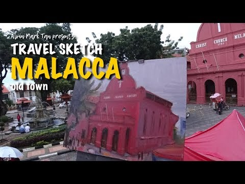 Travel Sketch – Malacca Old Town