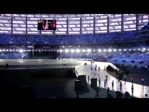 Baku 2015 European Games Opening Ceremony full