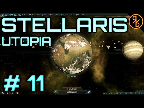 Stellaris # 11 | Ringworld Encounter | 1.5 Utopia