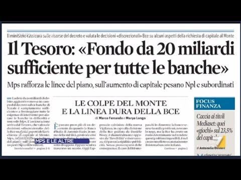 Monte Paschi Siena, giusto salvarla?