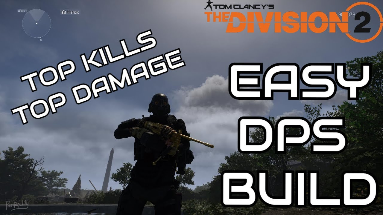 Easy DPS Build - TU10/Top Kills/Top Damage