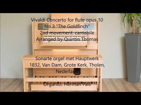 Vivaldi concerto for flute op 10 no 3