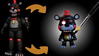 Lefty Custom POP! Figure. (Tutorial/Speedpaint)