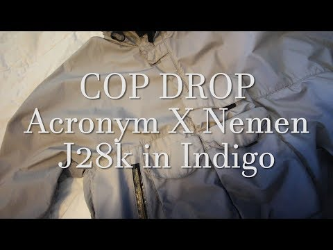 Best Acronym Jacket?! | COPDROP Acronym X Nemen J28k in Indigo | REVIEW + ONBODY