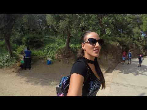 Exploring Park Guell - Barcelona 2017